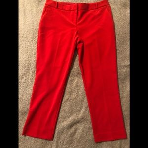 NWOT Limited Cherry Red cropped pants